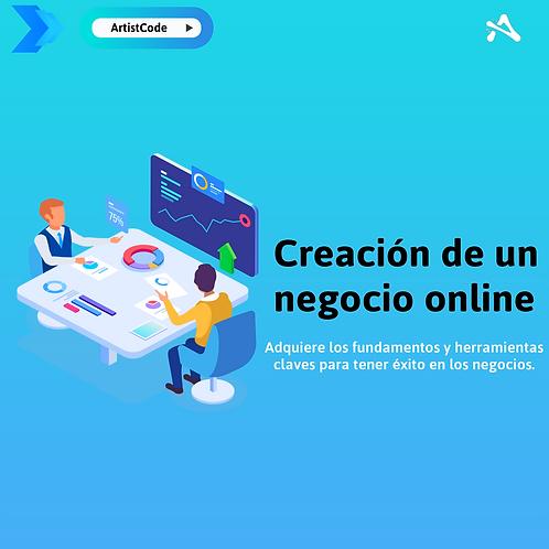 Creación de negocio online