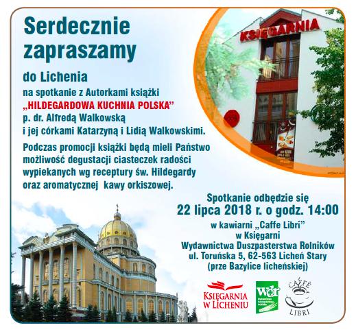 Hildegardowa Kuchnia Polska W Licheniu Hildegarda Orkisz Alfreda