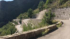 Endless Serpentines on Col de Turini Road