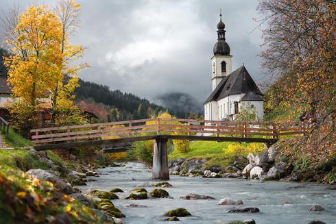 Bavarian Maria Gern Church during fall.jpg