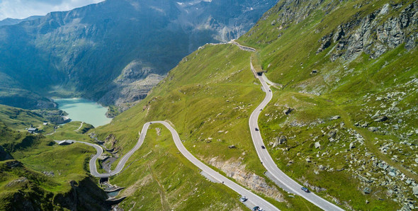 Grossglockner Pass curves