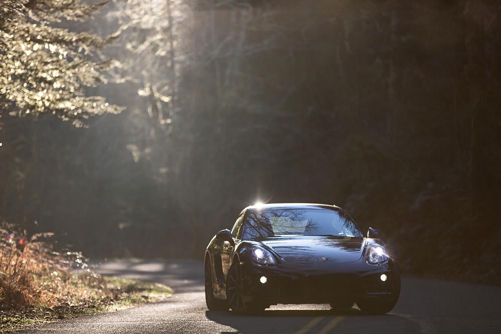 Porsche in the Black Forest