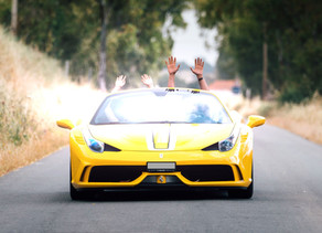 Tuscany Driving Tour in a Ferrari or other Supercar