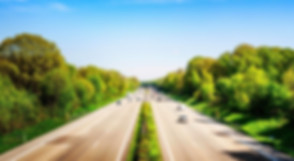 Cars driving on German Autobahn
