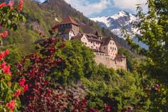 Vaduz Castle in Spring