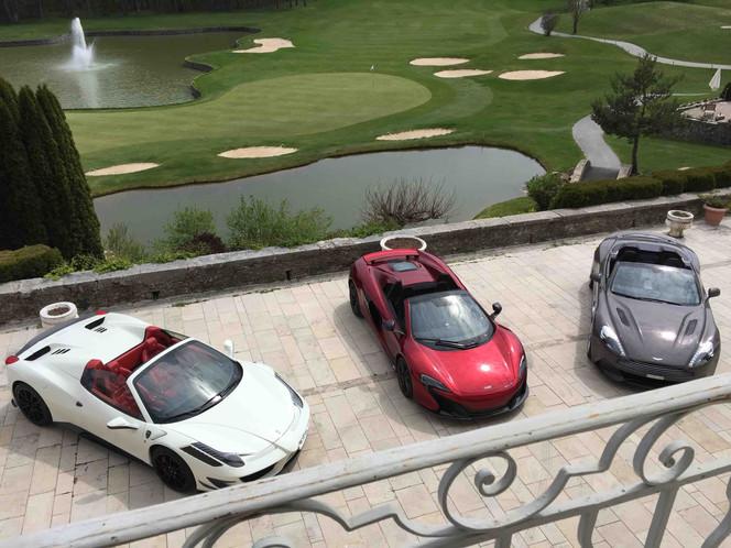 Luxury Car Rental Fleet in Europe