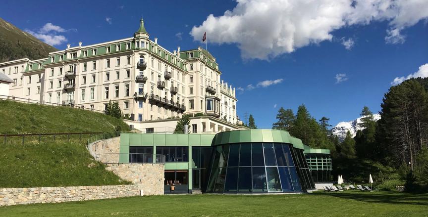 Grand Hotel Kronenhof Pontresina historic building