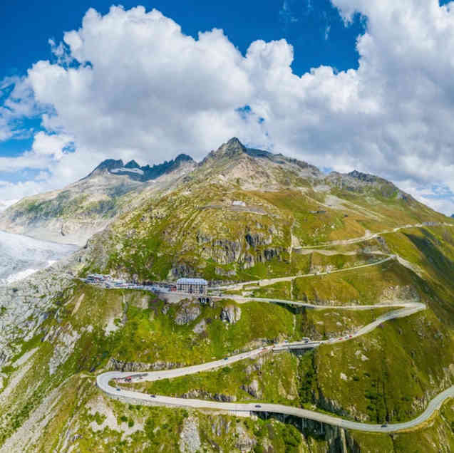 Furka Pass, Switzerland ⭐⭐⭐⭐