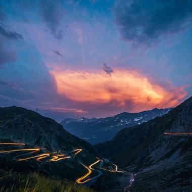 Gotthard Pass & Tremola, Switzerland