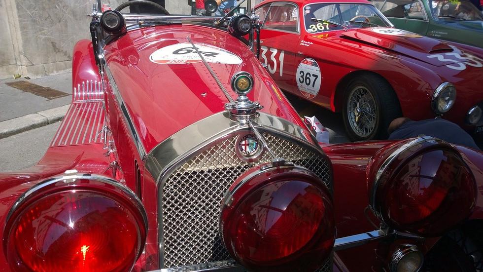 Alfa Romeo on Mille Miglia