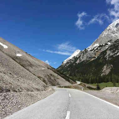 Hahntennjoch Pass, Austria