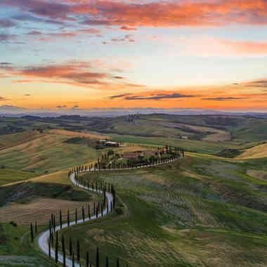 Scenic Drives of Tuscany, Italy