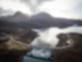 Kylesku Bridge in Scotland