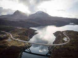 NC500 Route Scotland Supercar Road Trip
