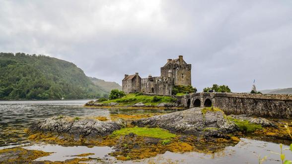 Eilan Donan Castle in Scotland