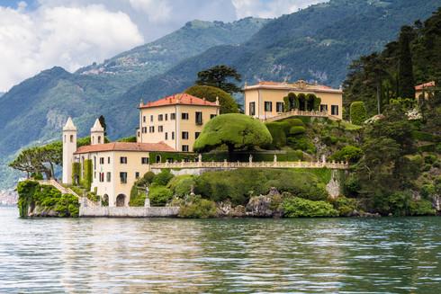 Villa del Balbianello at Lake Como