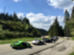 supercars on b500 in Germany