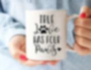 True-Love-Has-Four-Paws-Coffee-Mug-Dog-M