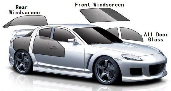 all kind of windscreen