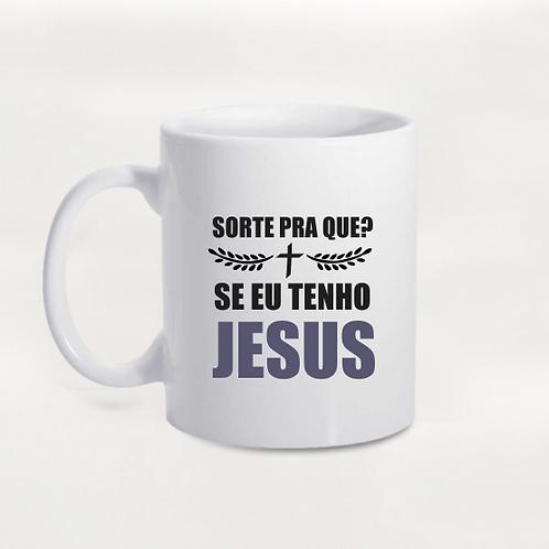 Caneca Tenho Jesus