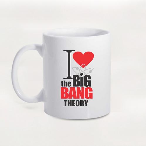 Caneca I Love The Big Bang Theory