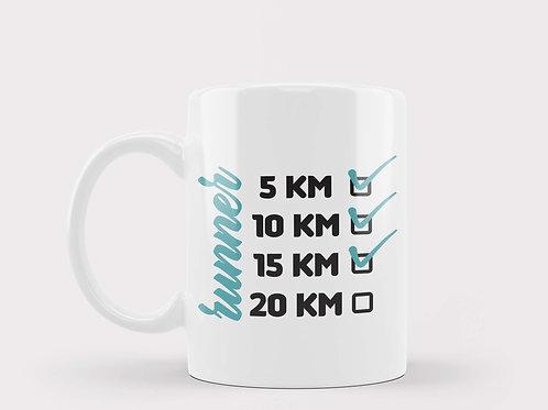 Caneca Runner 15Km