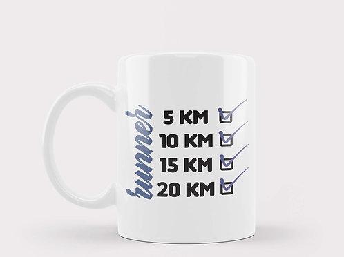 Caneca Runner 20Km