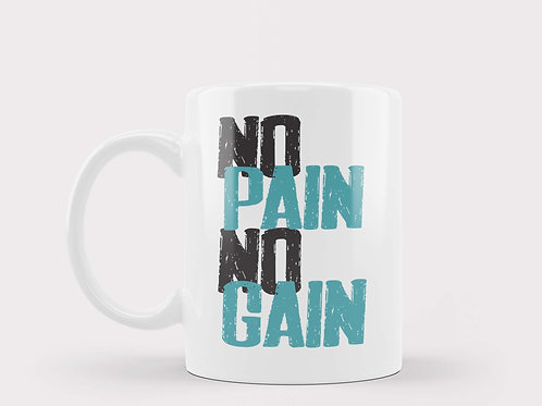 Caneca No Pain No Gain