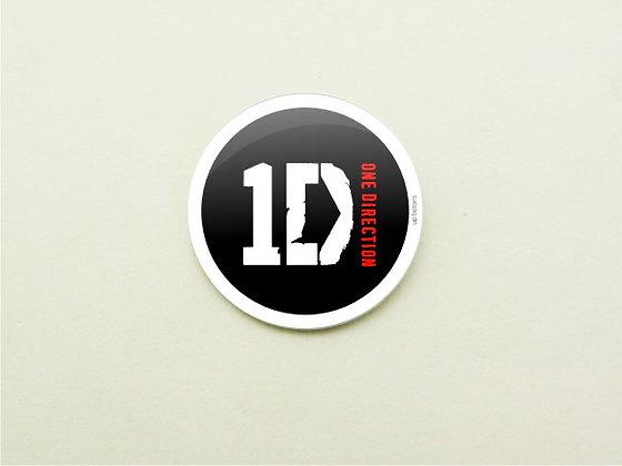 Boton One Direction Black