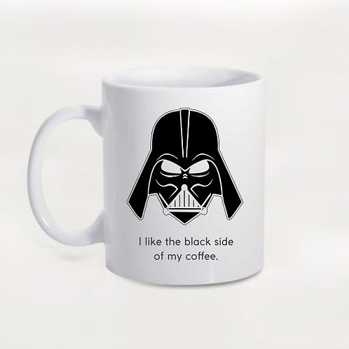 Caneca Darth Vader - The Black Side