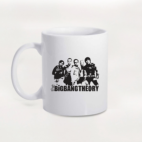 Caneca Personagens - The Big Bang Theory