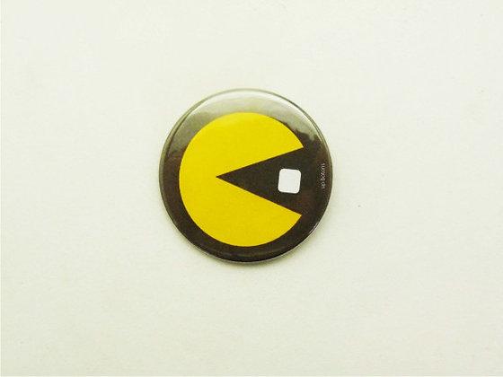 Boton Pac Man Grande