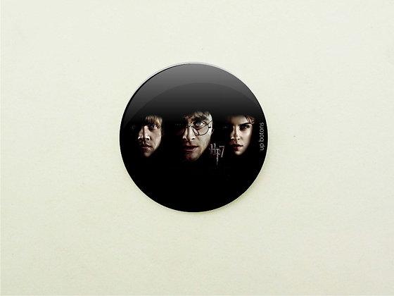 Boton Rony, Harry e Hermione