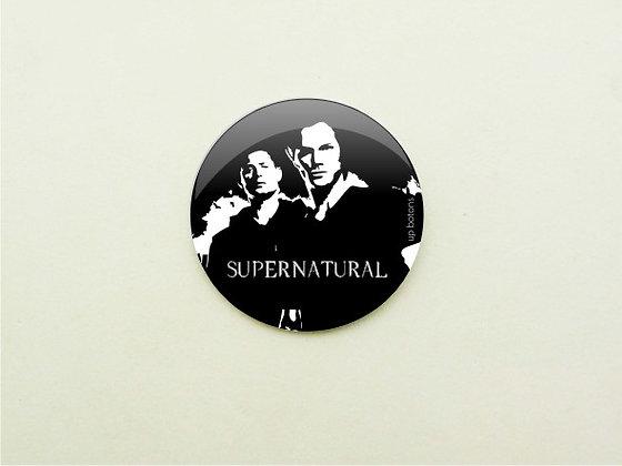 Boton Supernatural Black