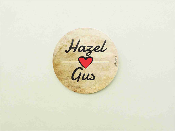 Boton Hazel e Gus