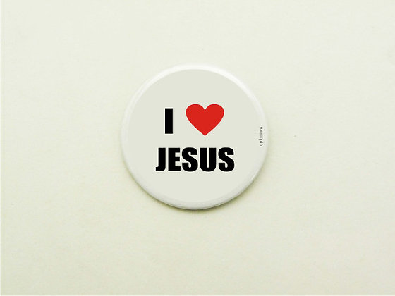Boton I Love Jesus