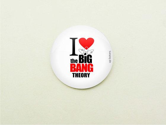 Boton I Love The Big Bang