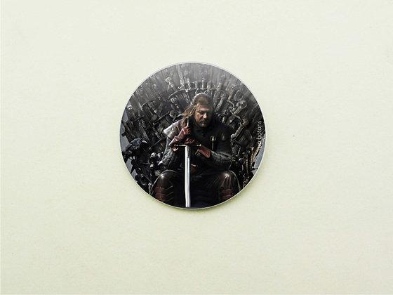 Boton Gurra dos Tronos Ned