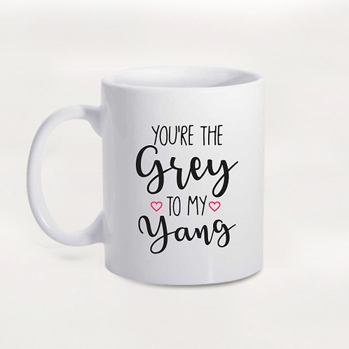 Caneca Grey's Anatomy - Grey e Yang