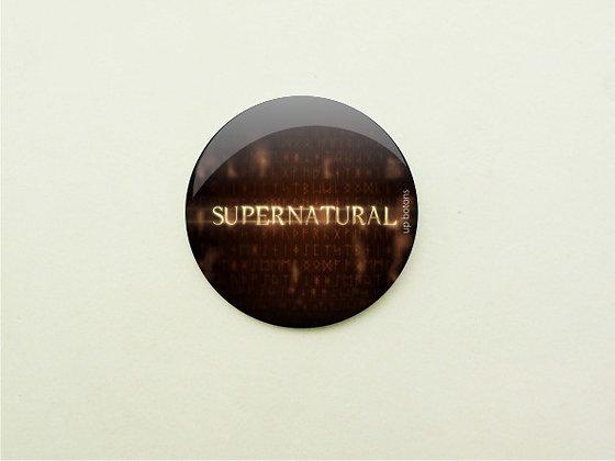 Boton Supernatural Logo