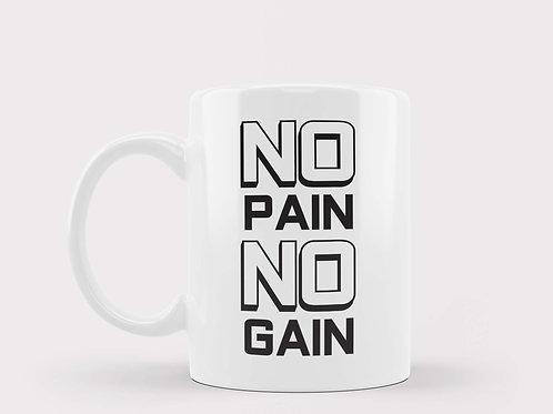 Caneca No Pain No Gain PeB