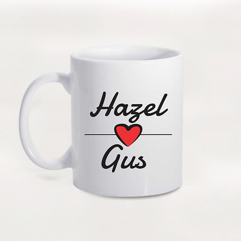 Caneca Hazel e Gus