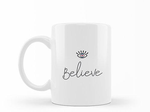 Caneca Believe