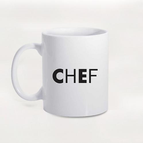 Caneca Chef Black
