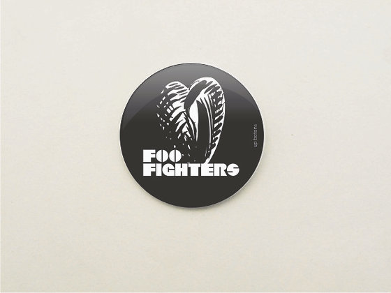 Boton Foo Fighters 2