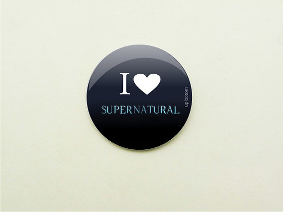 Boton I Love Supernatural