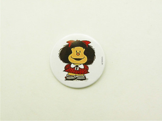 Boton Mafalda