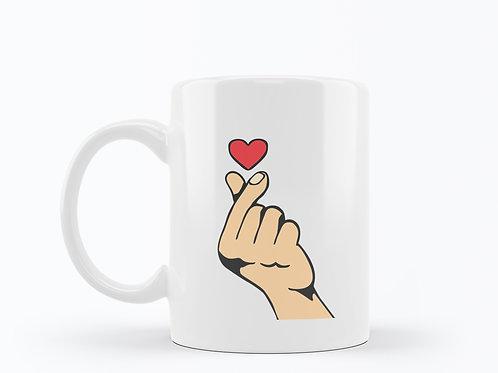 Caneca Finger love