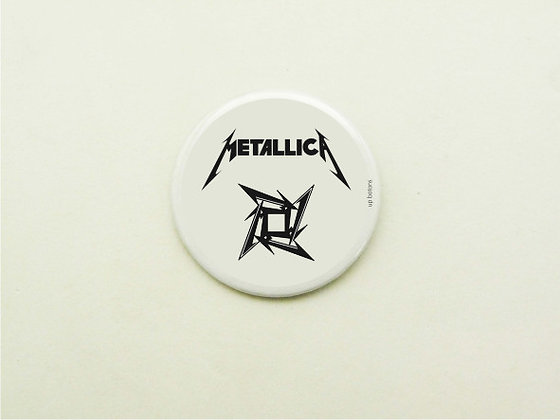 Boton Metallica