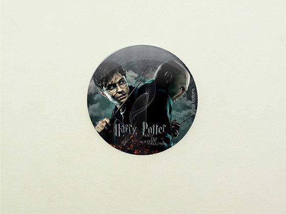 "Boton Harry Potter e as relíquias.."""